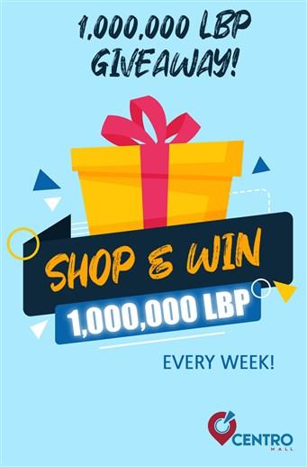 Win 1,000,000 LBP EVERY WEEK!